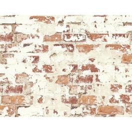 SCOCICI Satchel for Women Plastered Brick Wall Aged Masonry Vintage Constructio